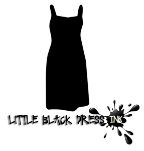 little black dress INK logo